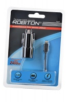 ROBITON App04 Car Charging Kit 2.4A iPhone/iPad (12-24V) BL1