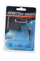 ROBITON App05 Charging Kit 2.4A iPhone/iPad (100-240V) BL1